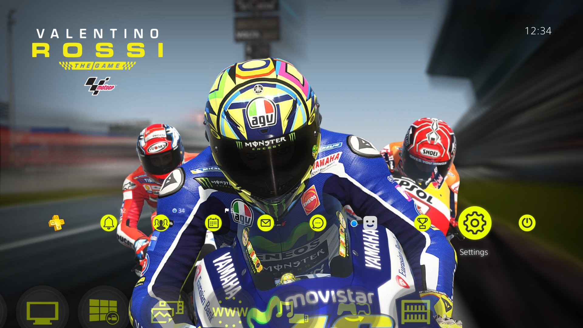 Valentino Rossi The Game - MotoGP™ Theme 2 on PS4 | Official PlayStation™Store US
