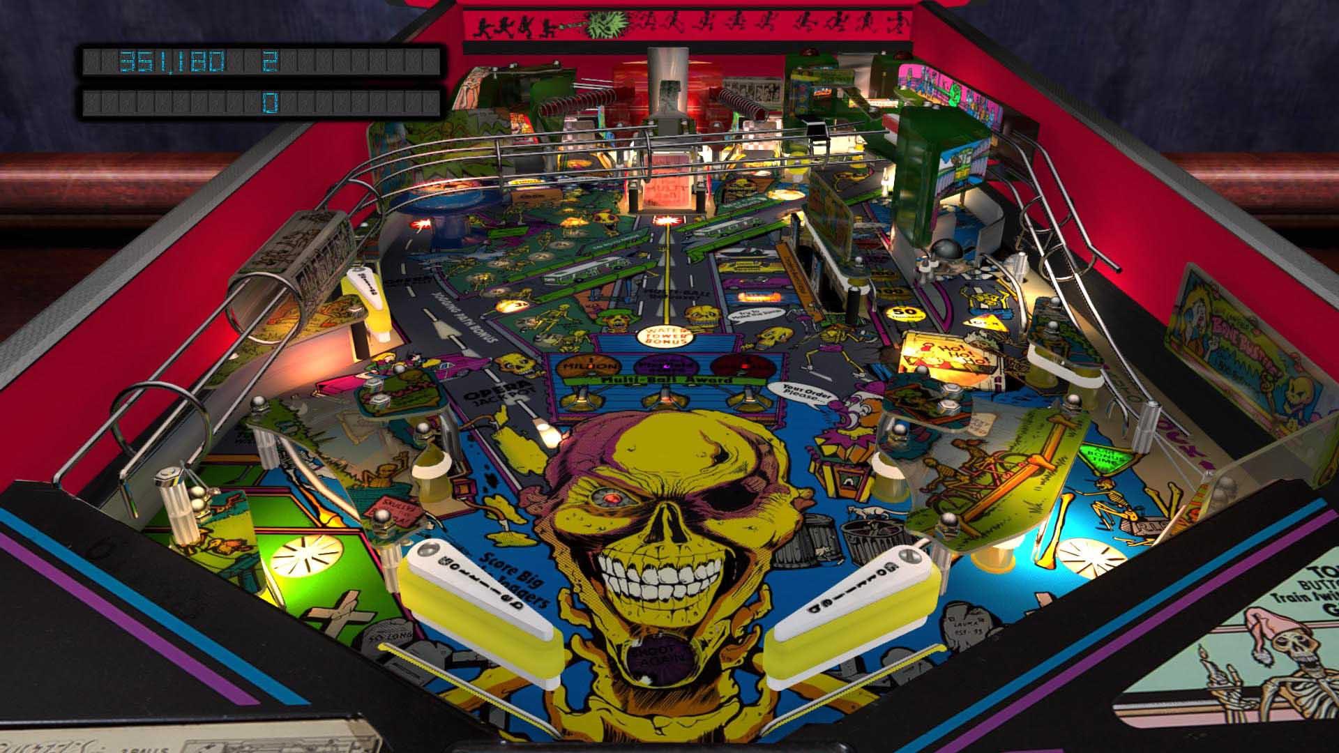 Pinball arcade season six pass on ps4 official for Pinball de mesa
