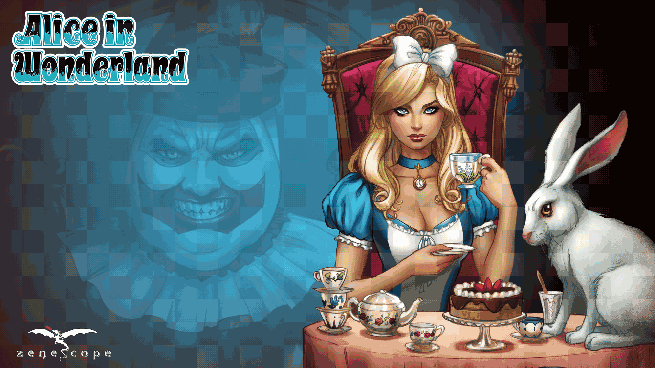 scary alice in wonderland games online free