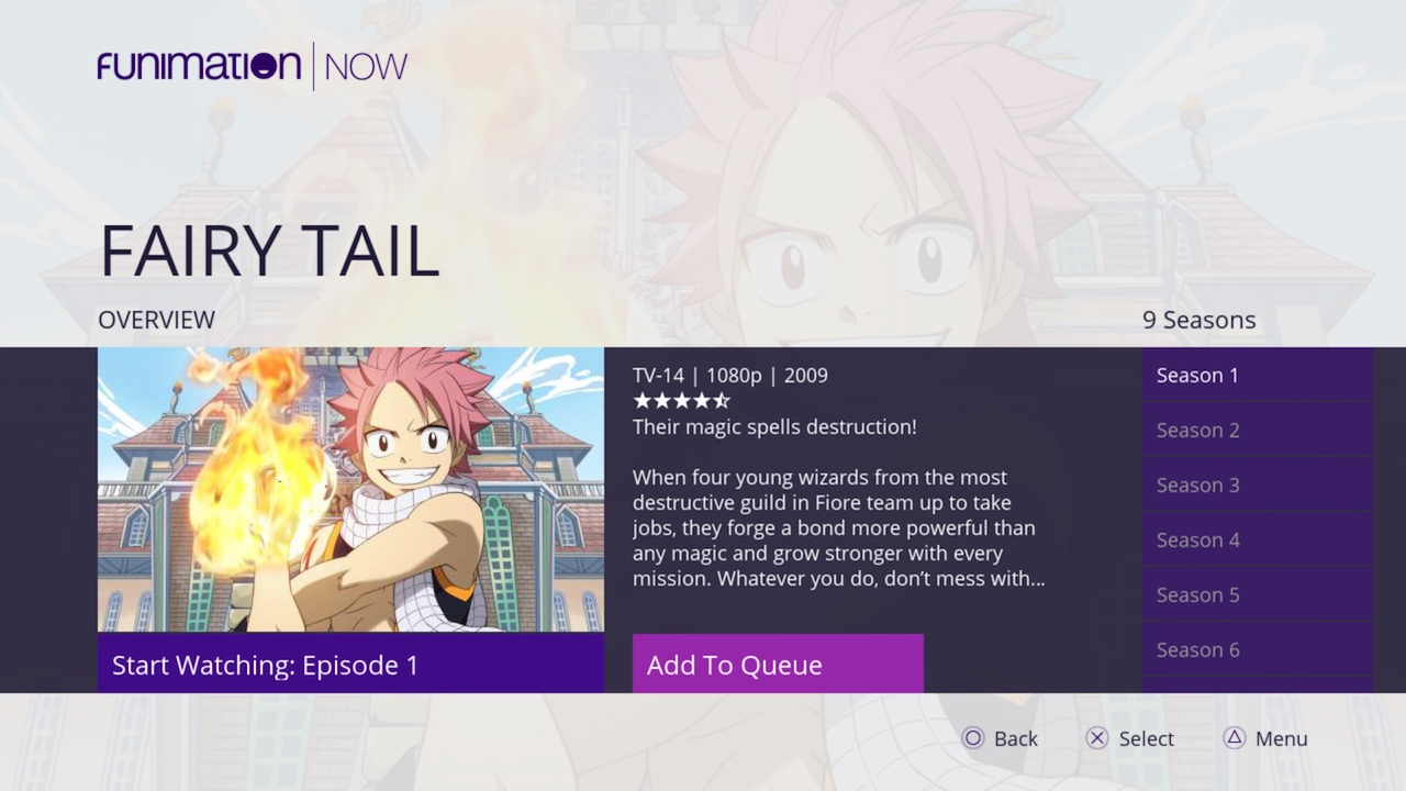 Funimation Games For Ps3 : Funimation on ps official playstation store us