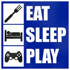 eat sleep play avatar