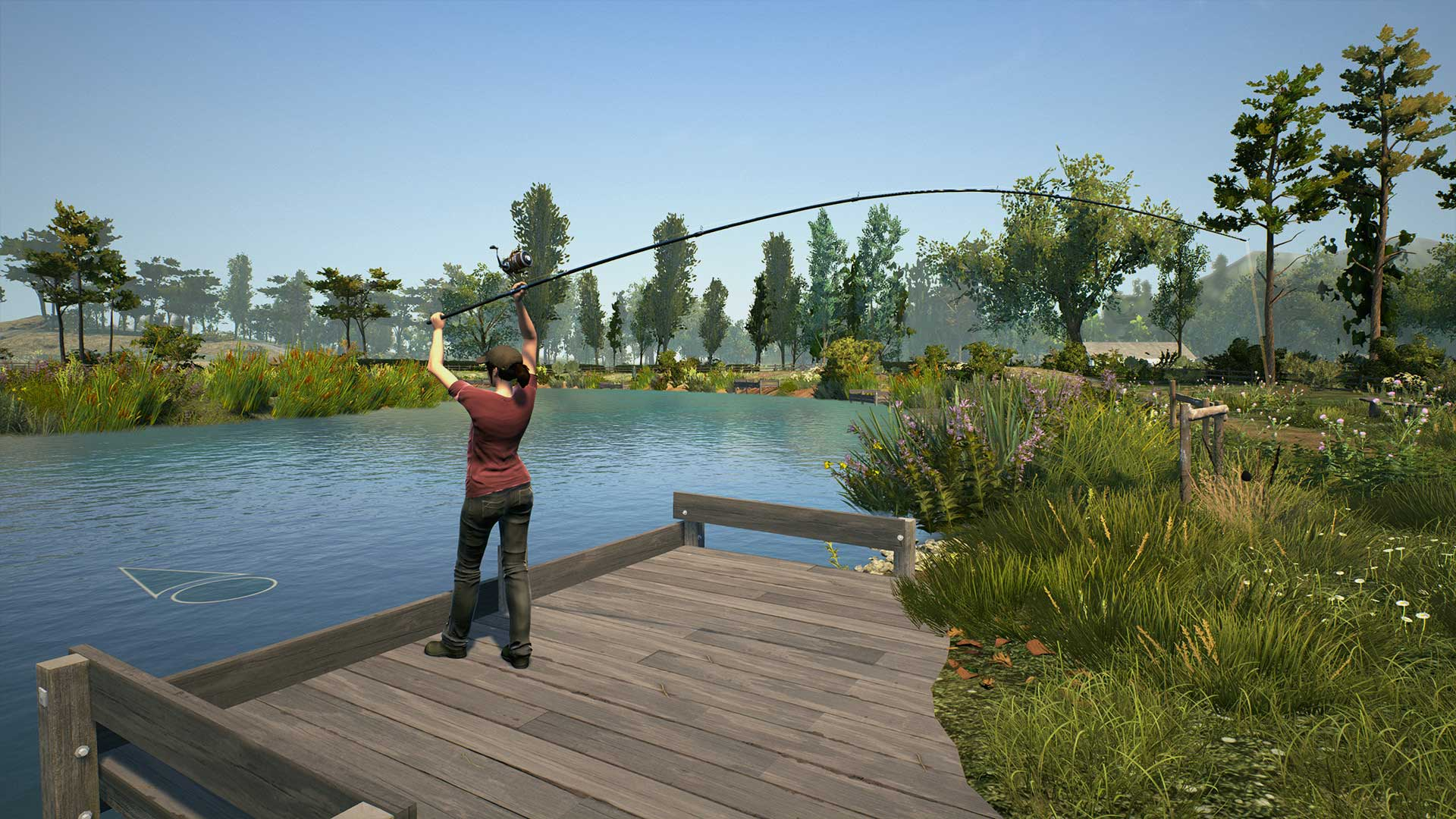 Euro fishing on ps4 official playstation store us for Lake fishing games