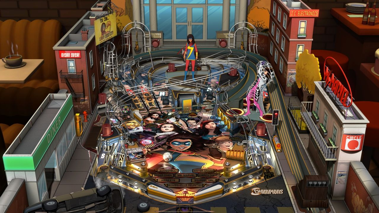 Pinball Fx3 - Marvels Women Of Power On Ps4  Official -4167