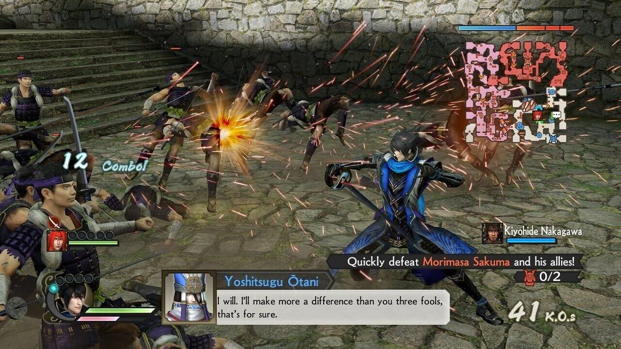 Download Game Samurai Warrior 4 II PC