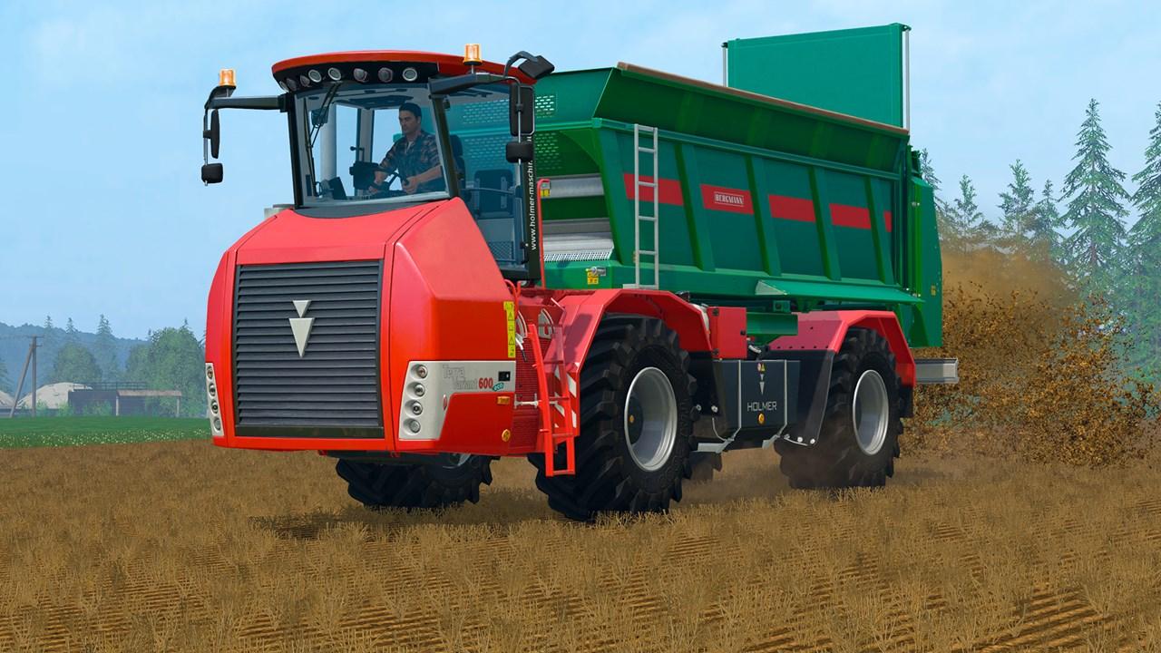 Скачать farming simulator 15 holmer dlc