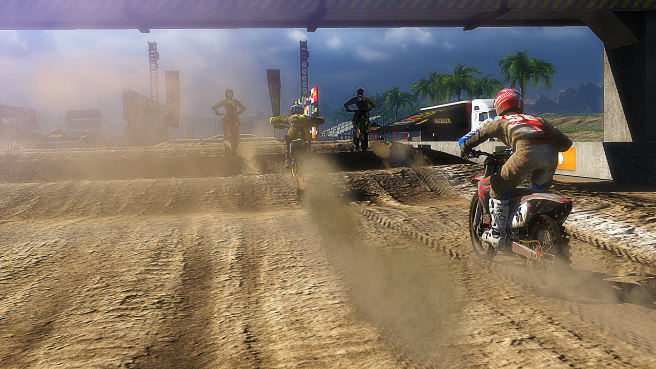 mx vs atv supercross encore on ps4 official playstation. Black Bedroom Furniture Sets. Home Design Ideas