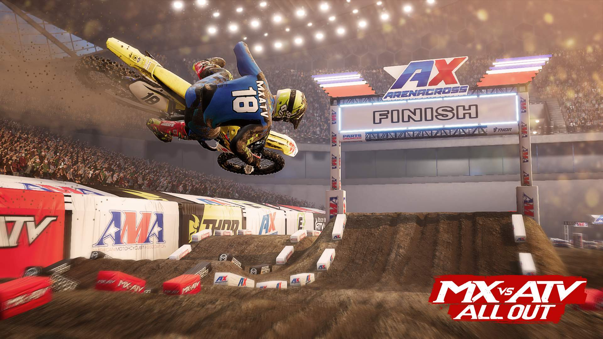 mx vs atv all out 2018 ama arenacross on ps4 official. Black Bedroom Furniture Sets. Home Design Ideas