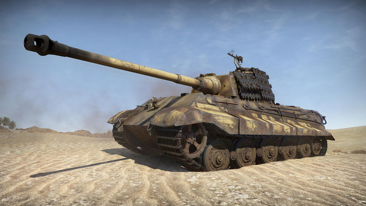War Thunder King Tiger Pack On Ps4 Official