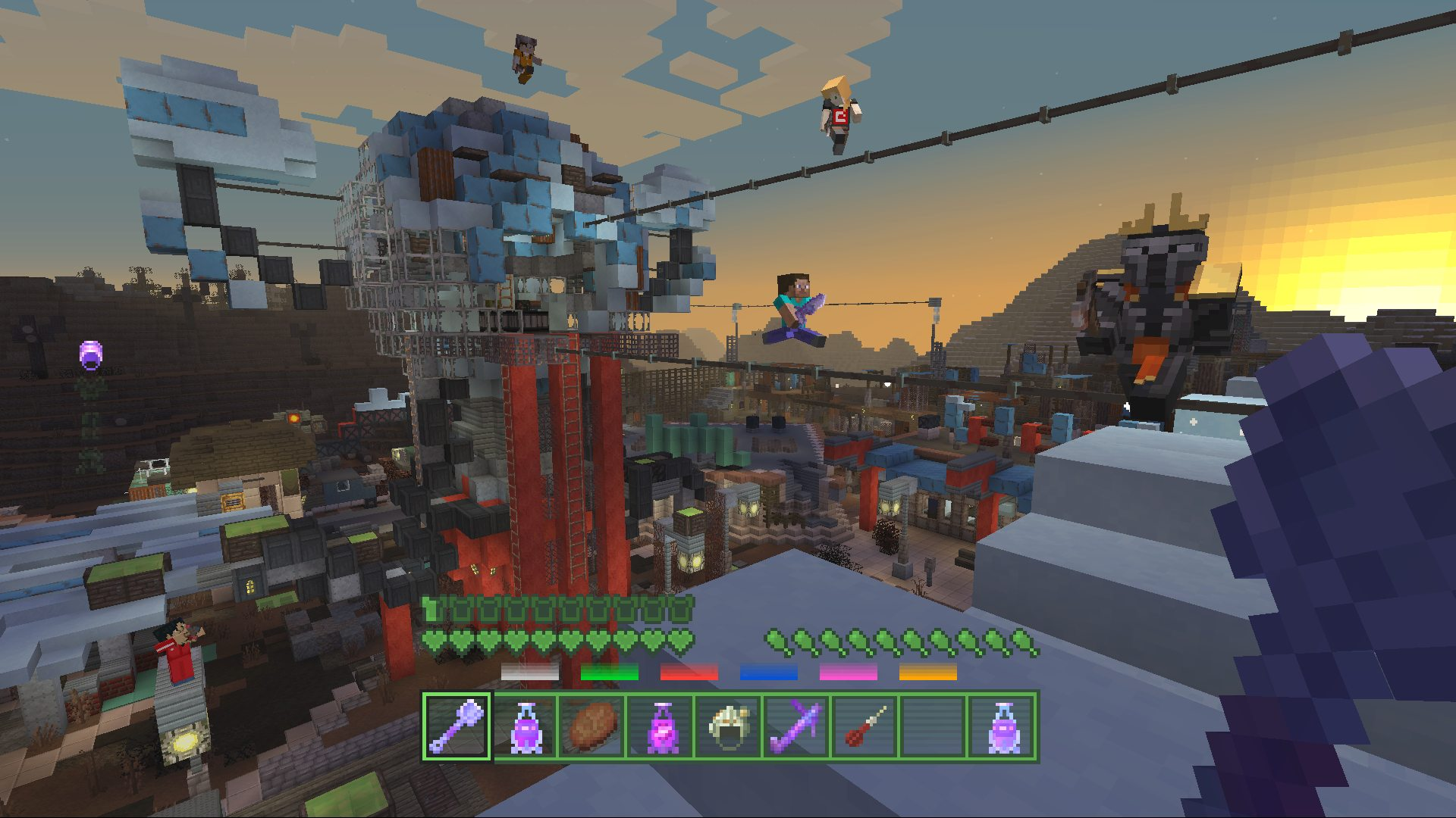 Minecraft Fallout Battle Map Pack on PS4 Official PlayStation