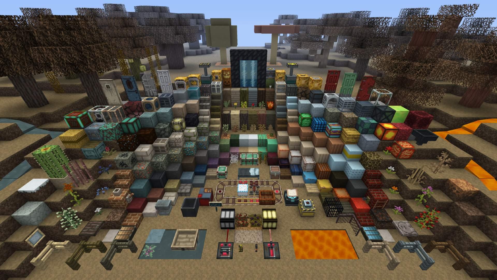 Minecraft Fallout Mash Up