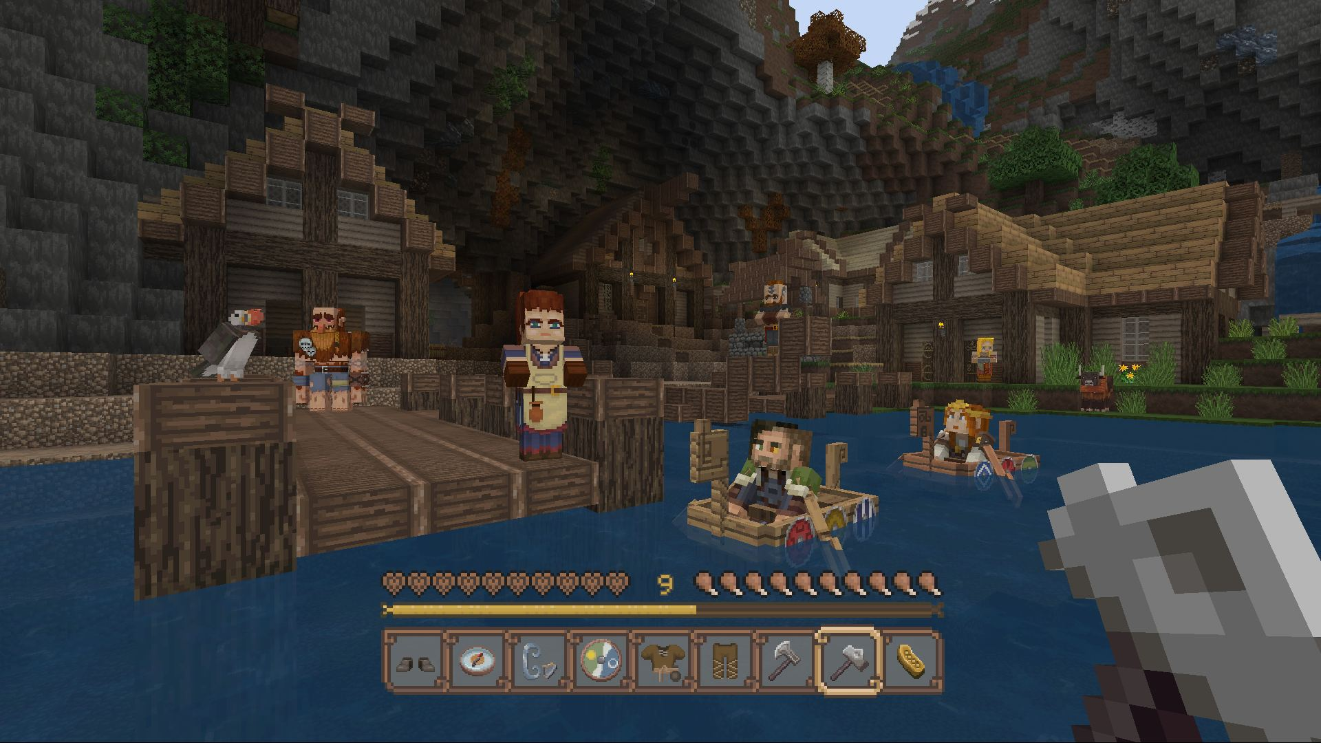 Minecraft Norse Mythology Mashup On PS Official PlayStationStore US - Minecraft star wars spiele kostenlos