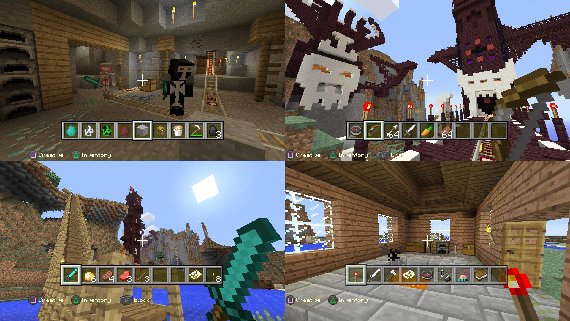 Minecraft PlayStation Edition On PS Official PlayStationStore US - Minecraft spiele fur ps3