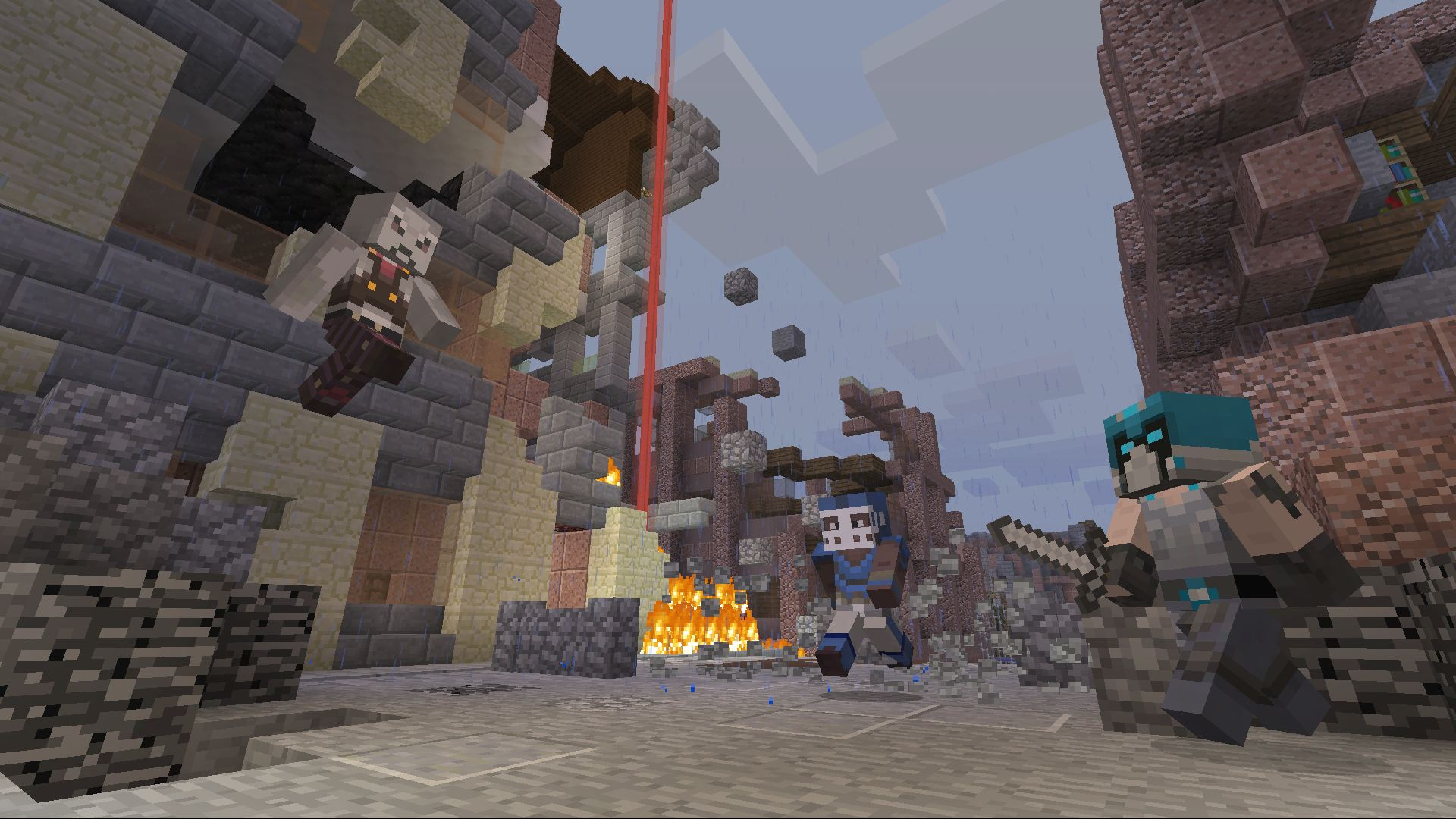 Minecraft Classic Skin Pack On PS Official PlayStationStore US - Skin para minecraft 1 8 multiplayer