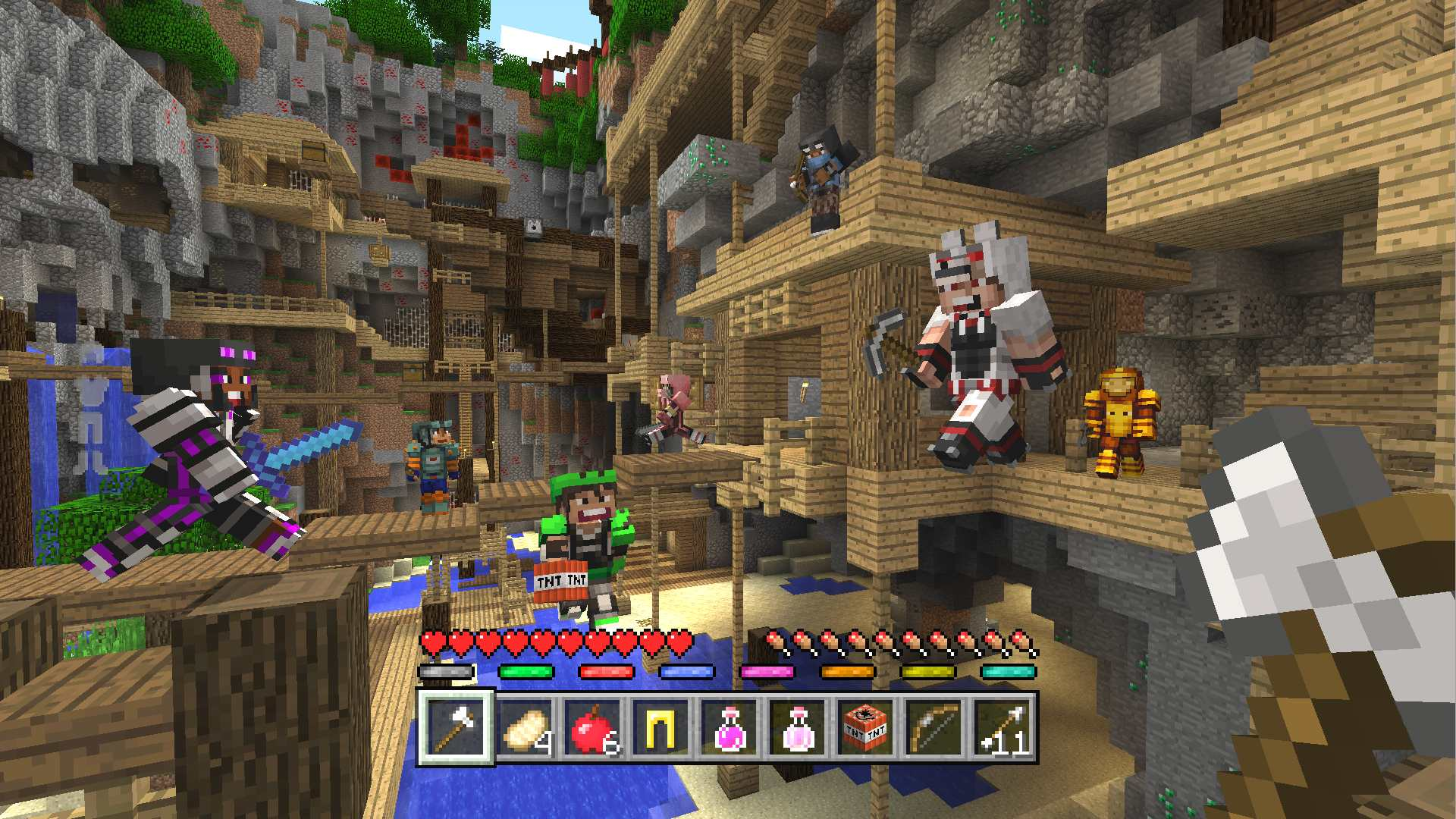 Minecraft Mini Game Masters Skin Pack On PS Official PlayStation - Minecraft ps4 minispiele