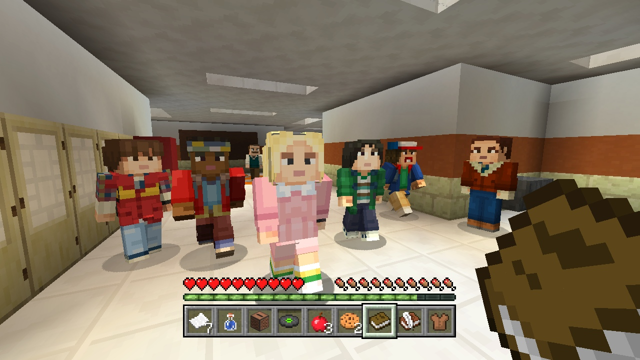 Minecraft Stranger Things Skin Pack On PS Official PlayStation - Skins para minecraft ps3 gratis