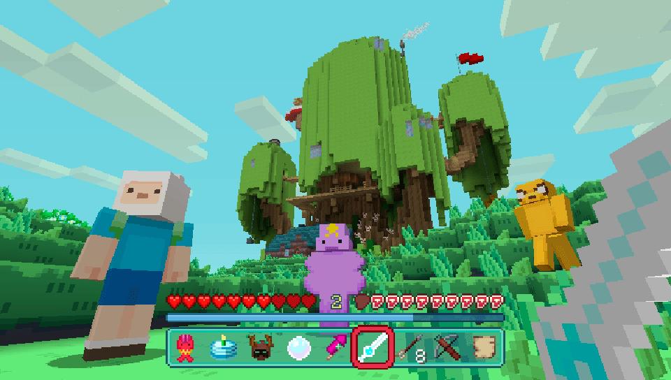 Adventure Time Mashup On PS Vita Official PlayStationStore US - Minecraft spiele fur ps vita