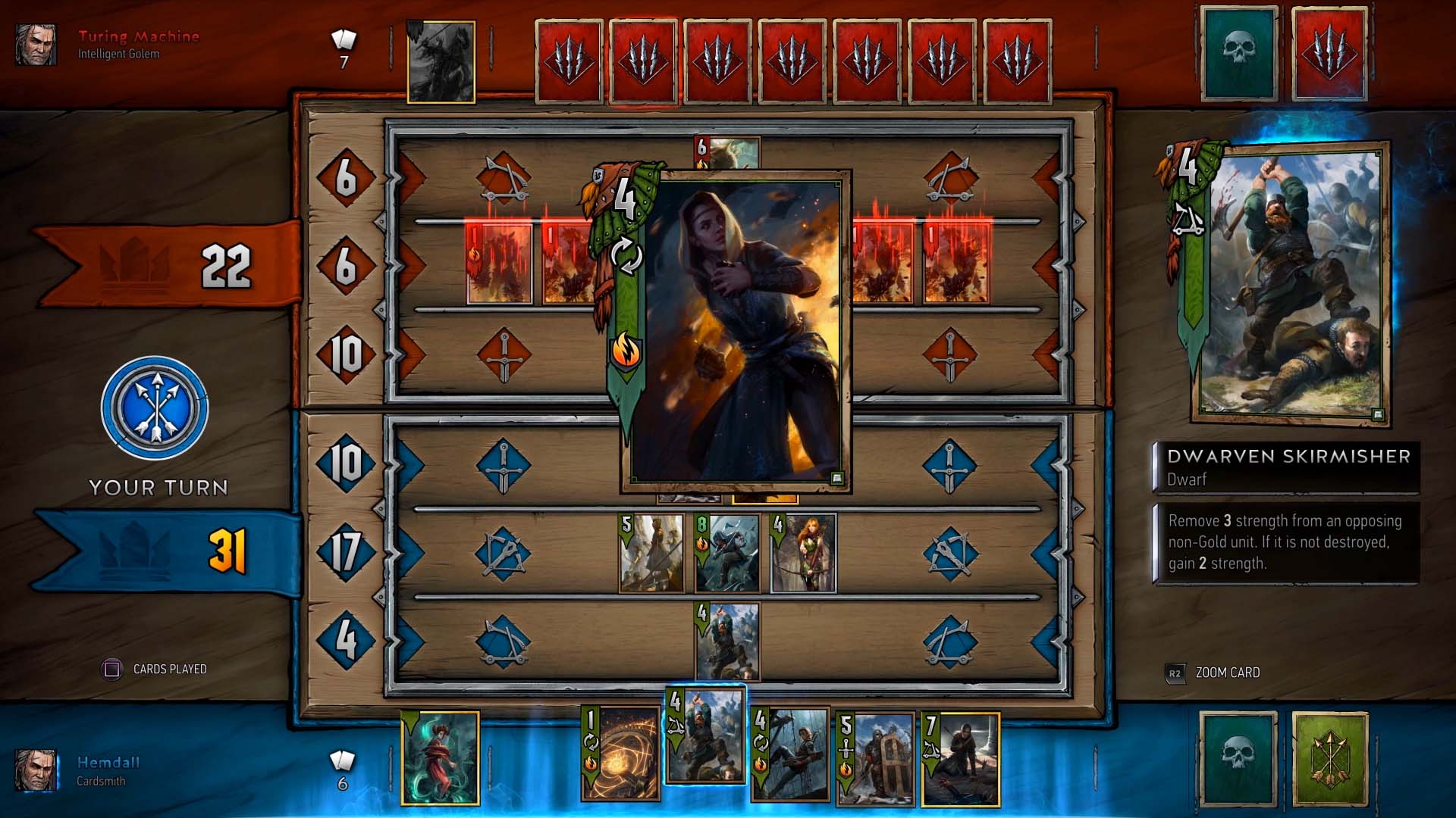 Card Games For Ps4 : Gwent the witcher card game public beta on ps