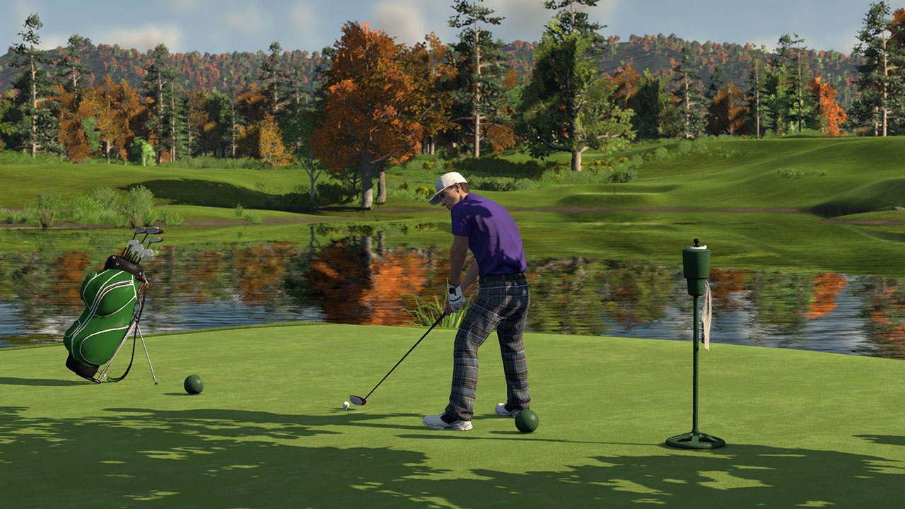 the golf club on ps4 official playstation store us. Black Bedroom Furniture Sets. Home Design Ideas