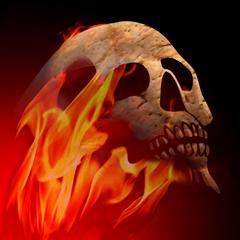 Brimstone Skull Avatar