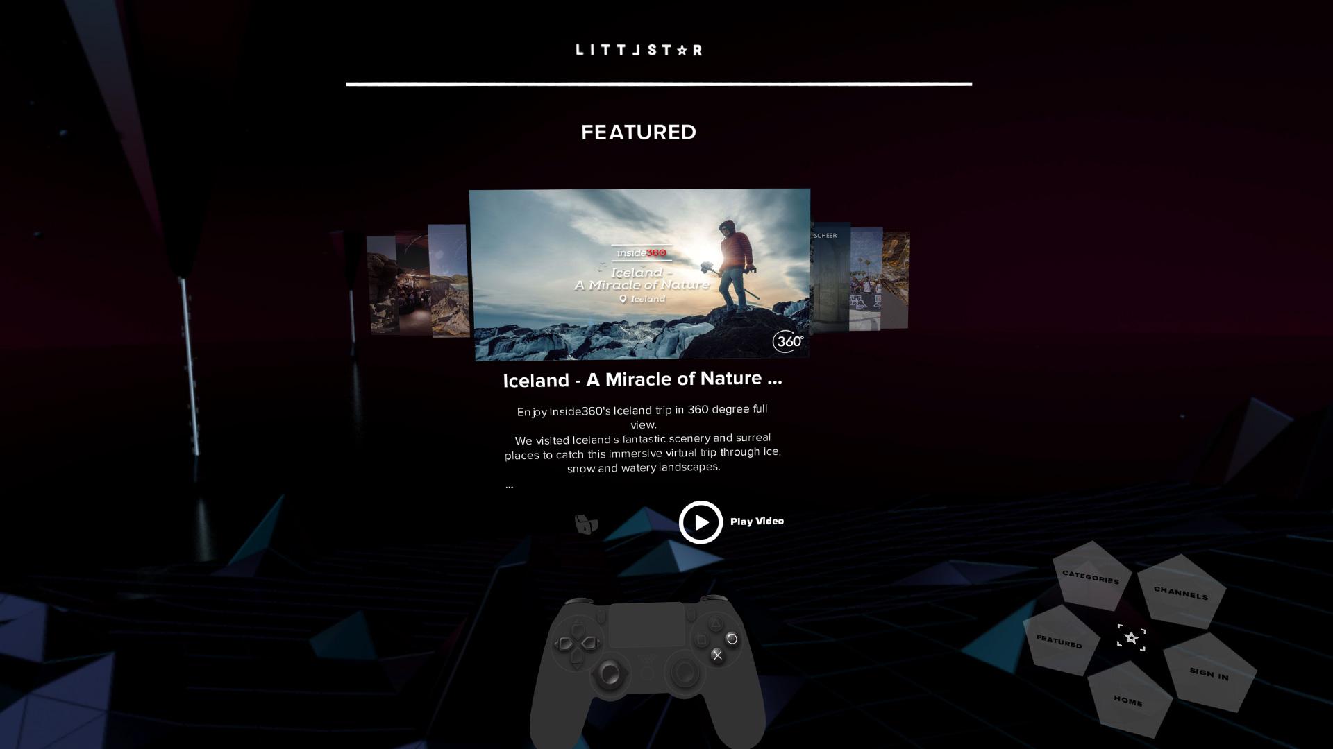 Littlstar VR Cinema on PS4 | Official PlayStation®Store US