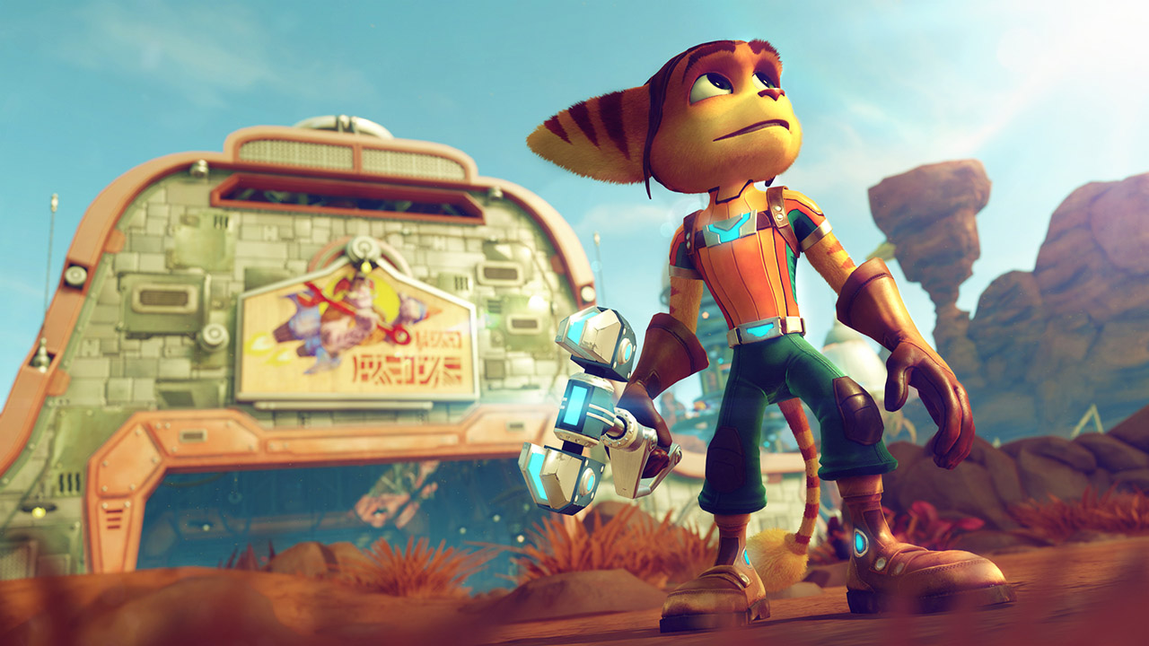 Screenshot from Ratchet and Clank