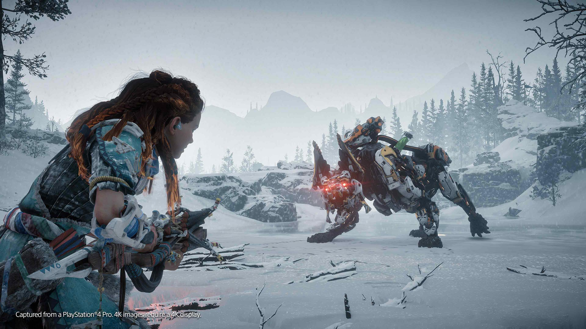 horizon zero dawn the frozen wilds on ps4 official. Black Bedroom Furniture Sets. Home Design Ideas