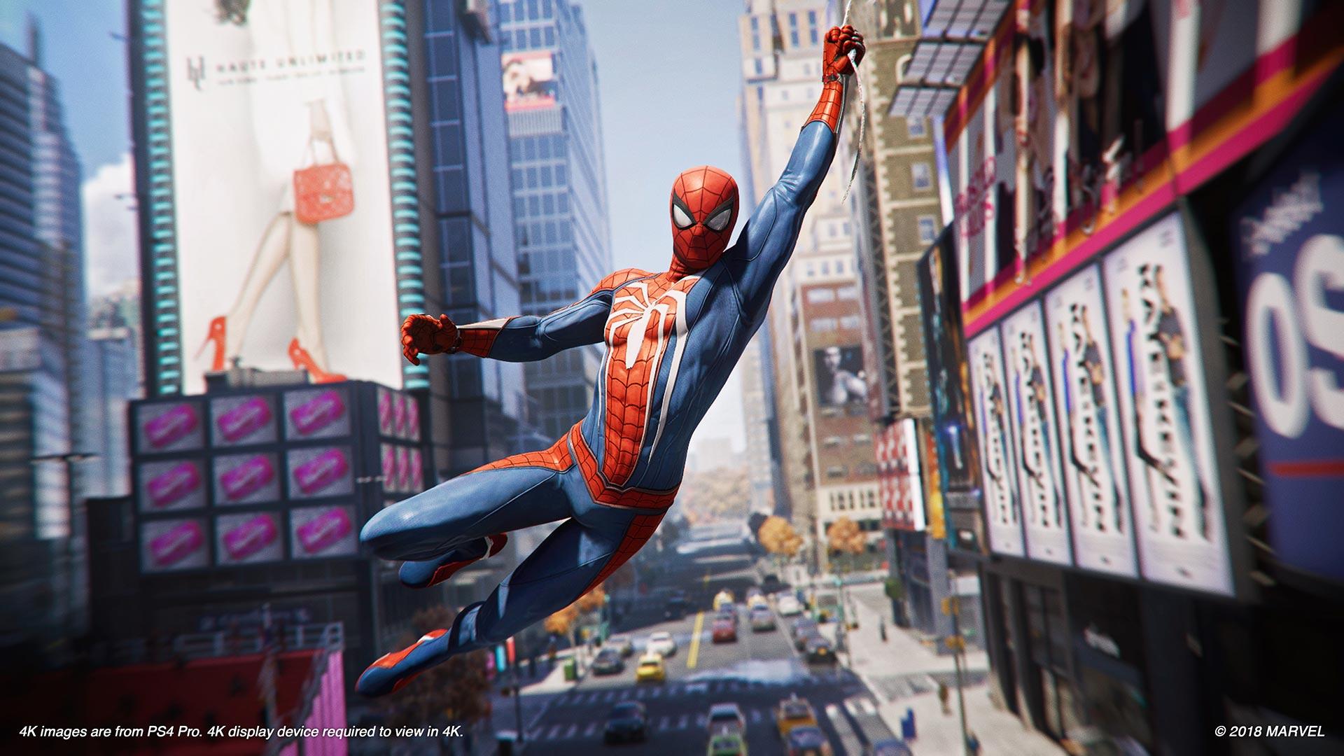 Marvel's Spider-Man presenta un nuevo tráiler