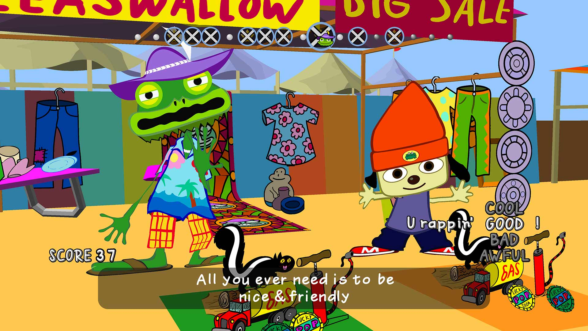 Image result for parappa the rapper
