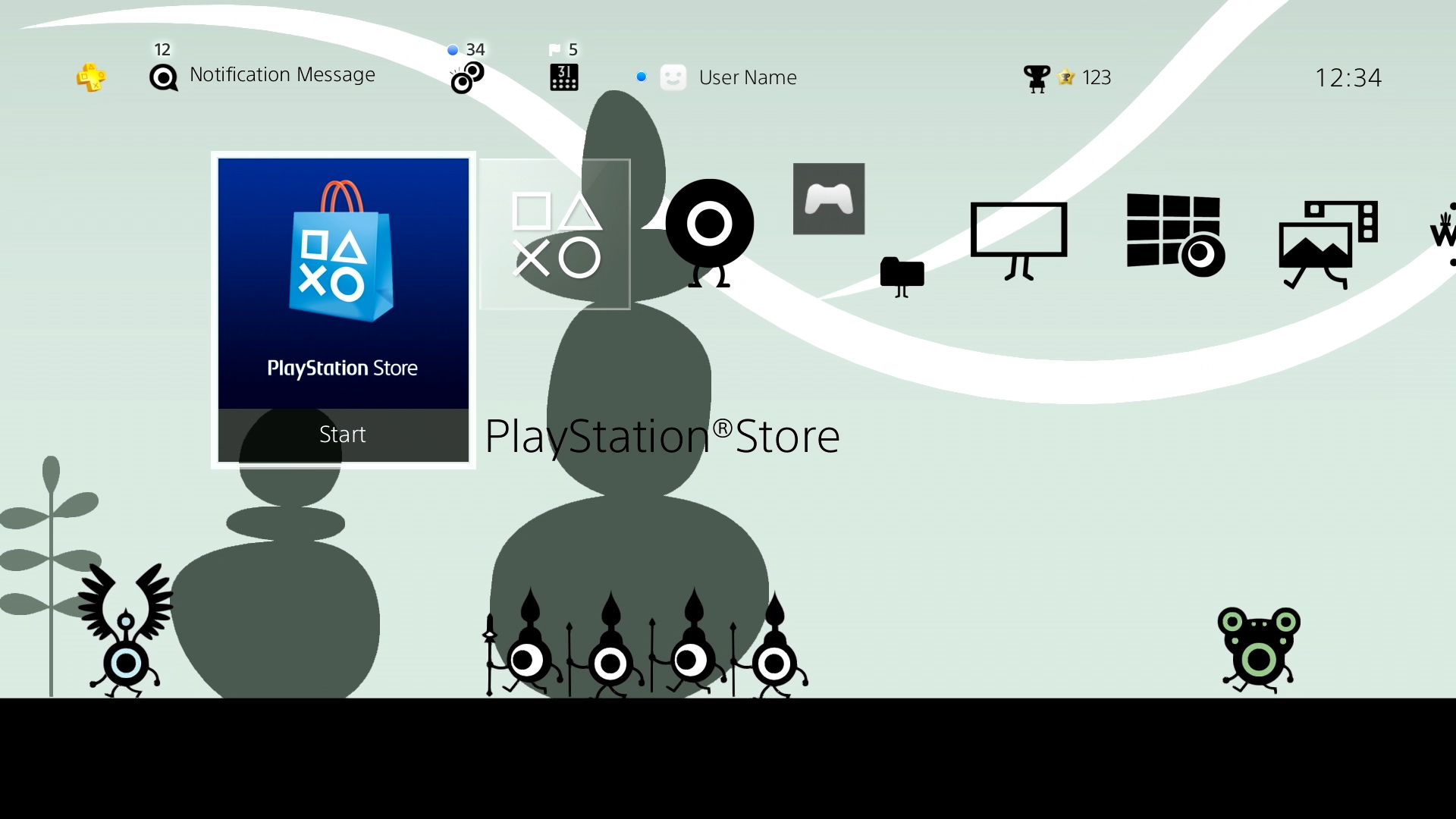 CRE0454-Patapon-PS4-Dynamic-Theme_img1_D